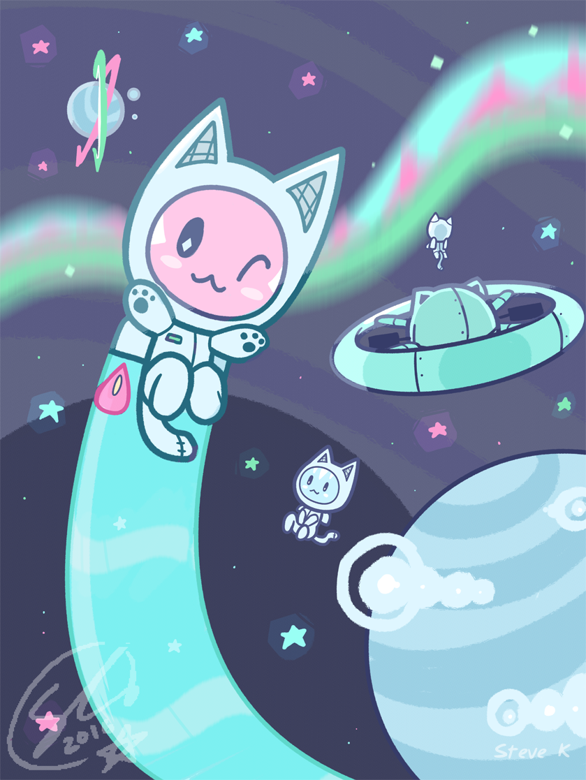 Space Kitty - Steve Kimber