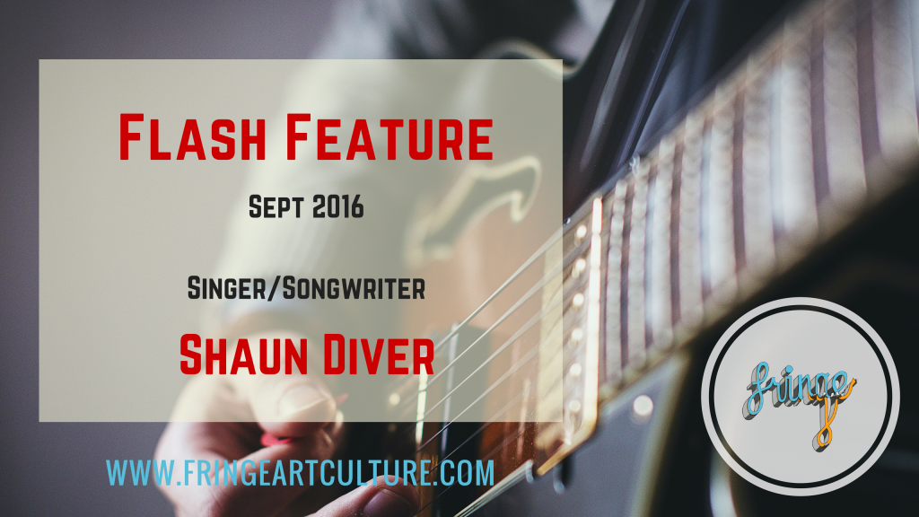 Flash Interview - Shaun Diver